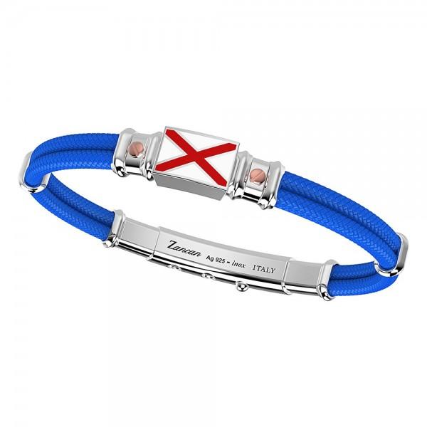 Bracelet in kevlar with...