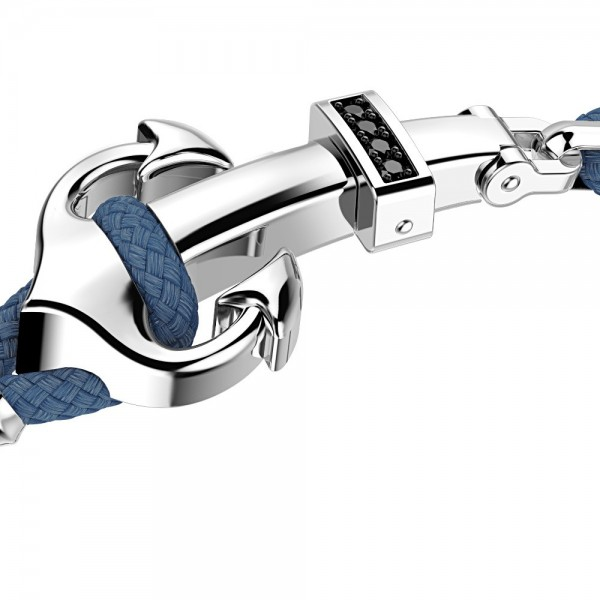 Silver Bracelet, black...