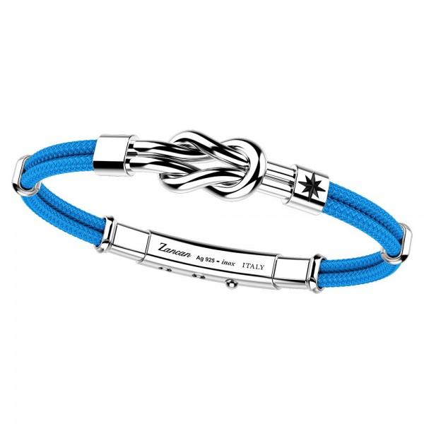 silver bracelet and kevlar