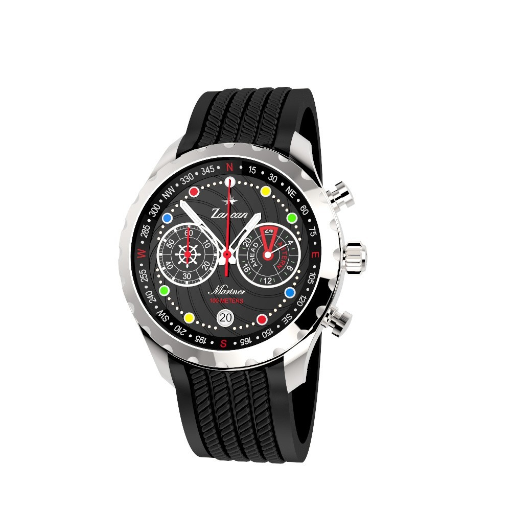 Mariner - Chronograph watch with calendar