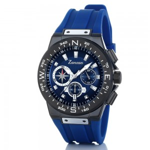 Kompascrono - Men's chronograph watch with calendar
