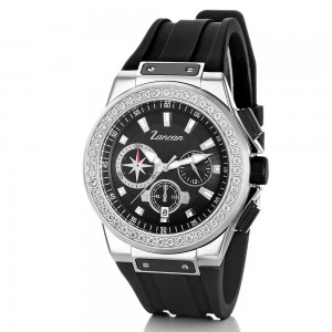 Kompasscrono - Men's chronograph watch with calendar