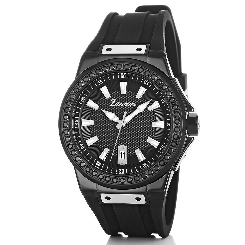Kompastempo – Men's watch with calendar.