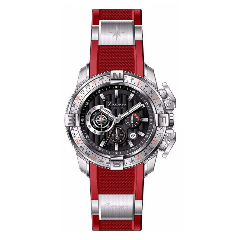 Supersport – Men's chronograph watch with calendar
