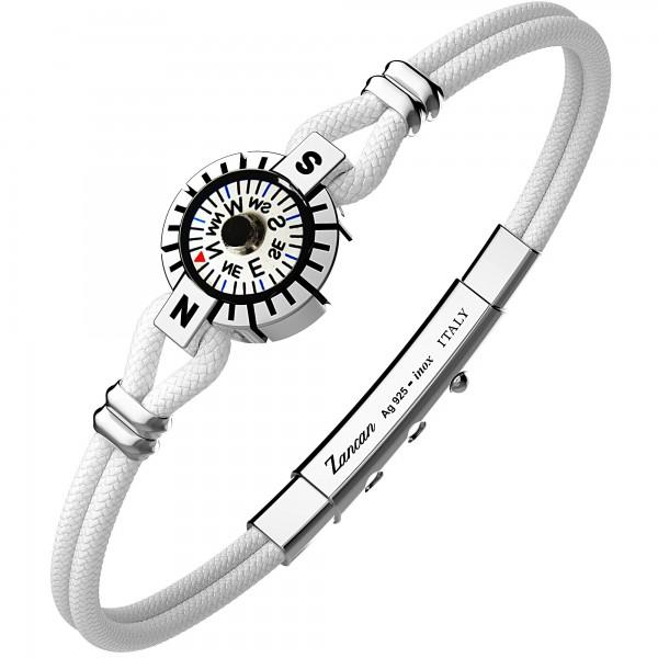 silver bracelt and kevlar...